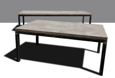 betonesstisch betontisch betonarbeitsplatte von messoni