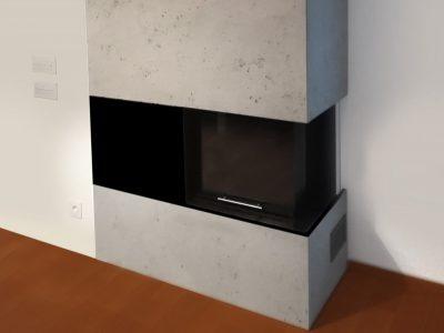 betonofen betonwandverkleidung ofen von messoni