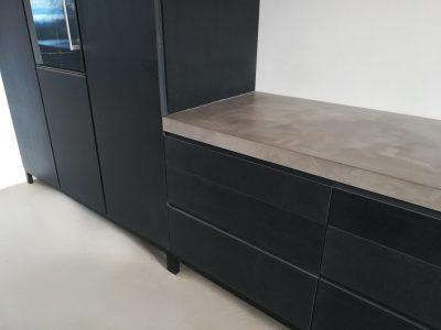 betonarbeitsplatte betonküchenplatte betontischplatte von messoni