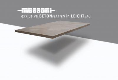 betonarbeitsplatte arbeitsplatte beton von messoni